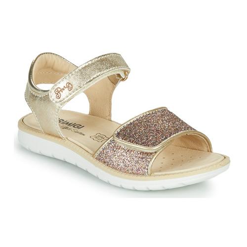 Shoes Girl Sandals Primigi CYRIELLE Gold
