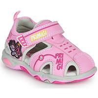 Shoes Girl Outdoor sandals Primigi SOLAL Pink