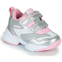 Shoes Girl Low top trainers Primigi SUZZI Silver / Pink