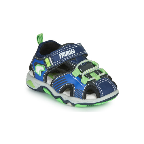 Shoes Boy Outdoor sandals Primigi DINNO Blue / Green