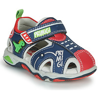 Shoes Boy Outdoor sandals Primigi ANIS Blue / Red / Green