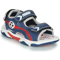 Shoes Boy Sandals Primigi MATHIS Marine / Red