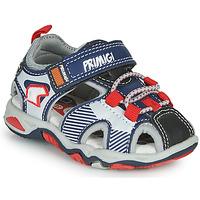 Shoes Boy Outdoor sandals Primigi HIMAN Grey / Blue / Red