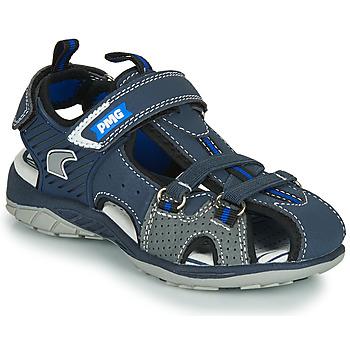 Shoes Boy Outdoor sandals Primigi SIXTINE Marine / Grey