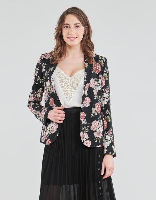 Clothing Women Jackets / Blazers Ikks BS40045-02 Black