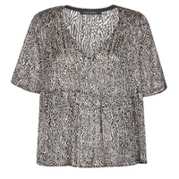 Clothing Women Tops / Blouses Ikks BS11135-02 Grey