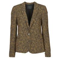 Clothing Women Jackets / Blazers Ikks BS40145-75 Brown