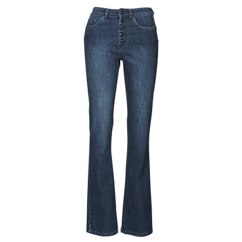 Clothing Women Bootcut jeans Ikks BS29135-45 Night / Blue