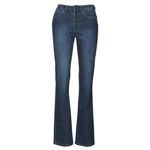 Clothing Women Bootcut jeans Ikks BS29135-45 Night / Blue