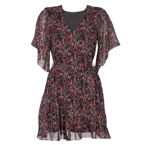 Clothing Women Short Dresses Ikks BS30205-02 Multicolour