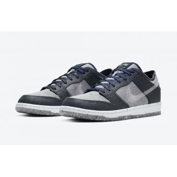 Shoes Low top trainers Nike SB Dunk Low Crater Dark Grey/White-Dark Grey