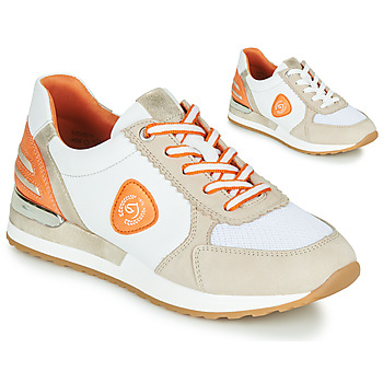 Shoes Women Low top trainers Remonte Dorndorf POLLUX White / Grey / Orange