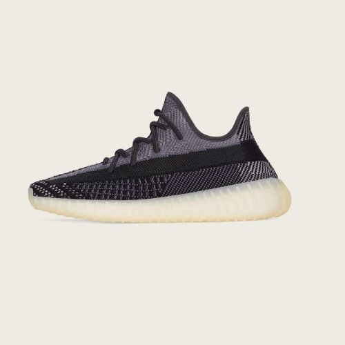 Shoes Low top trainers adidas Originals Yeezy Boost 350 V2 Carbon Carbon/Carbon-Carbon
