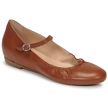 Shoes Women Flat shoes Casual Attitude OLIVIA Camel