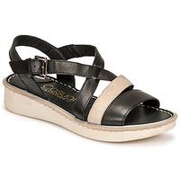 Shoes Women Sandals Casual Attitude ODETTE Black / Gold