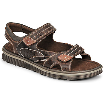 Shoes Men Sandals Casual Attitude OCHET Brown