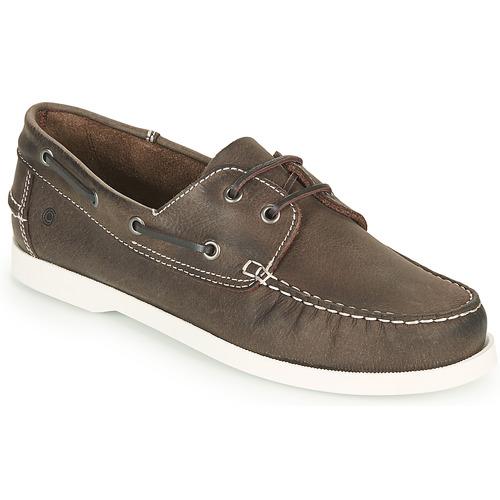 Shoes Men Boat shoes Casual Attitude REVORO Brown