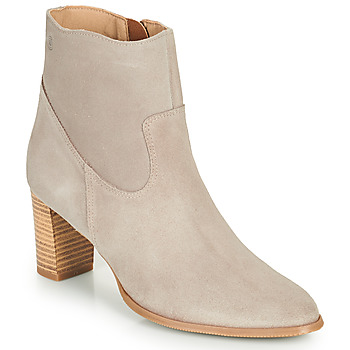 Shoes Women Ankle boots Casual Attitude OCETTE Beige