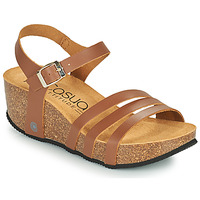 Shoes Women Sandals Casual Attitude OUDINE Camel