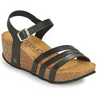 Shoes Women Sandals Casual Attitude OUDINE Black