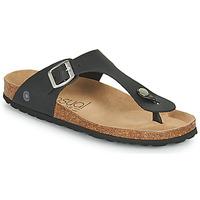 Shoes Women Flip flops Casual Attitude OXOA Black