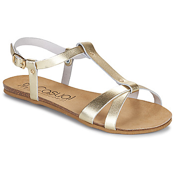 Shoes Women Sandals Casual Attitude JALIYAXE Gold
