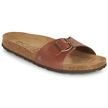 Shoes Men Mules Casual Attitude OMIU Brown
