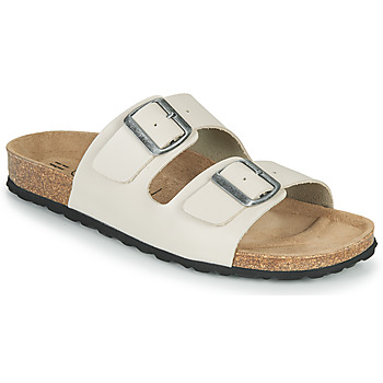 Shoes Men Mules Casual Attitude OMAO Taupe