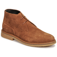 Shoes Men Mid boots Casual Attitude NETOINE Brown