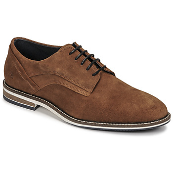 Shoes Men Derby Shoes Casual Attitude OREMO Camel