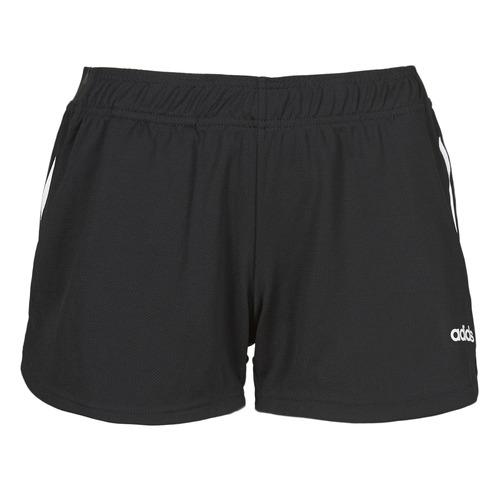 Clothing Women Shorts / Bermudas adidas Performance W D2M 3S KT SHT Black