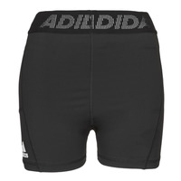 Clothing Women Shorts / Bermudas adidas Performance TF SHRT 3 BAR T Black