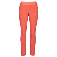 Clothing Women Leggings adidas Performance W 3S LEG Red