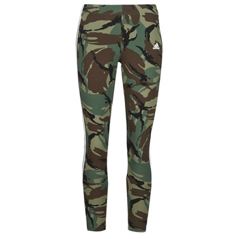 Clothing Women Leggings adidas Performance W CAMO 78 LEG Green