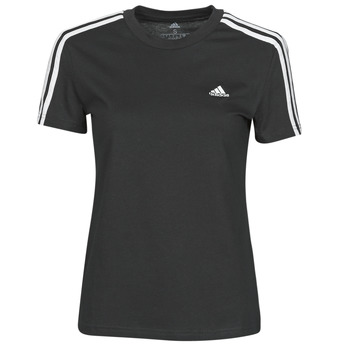 Clothing Women Short-sleeved t-shirts adidas Performance W 3S T Black