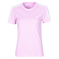 Clothing Women Short-sleeved t-shirts adidas Performance W 3S T Purple