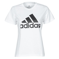 Clothing Women Short-sleeved t-shirts adidas Performance W BL T White