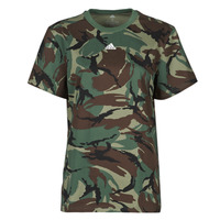 Clothing Women Short-sleeved t-shirts adidas Performance W CAMO T Green