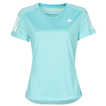 Clothing Women Short-sleeved t-shirts adidas Performance OWN THE RUN TEE Blue