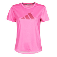 Clothing Women Short-sleeved t-shirts adidas Performance BOS LOGO TEE Pink