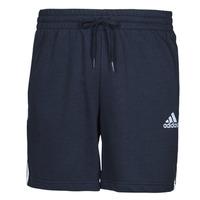 Clothing Men Shorts / Bermudas adidas Performance M 3S FT SHO Blue