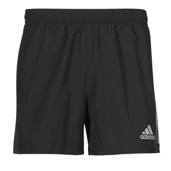 Clothing Men Shorts / Bermudas adidas Performance OWN THE RUN SHO Black