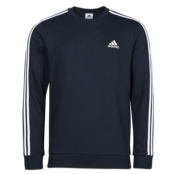 Clothing Men Sweaters adidas Performance M 3S FT SWT Blue