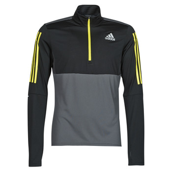 Clothing Men Sweaters adidas Performance OWN THE RUN 1/2 Grey