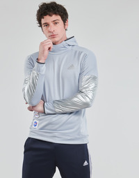 Clothing Men Sweaters adidas Performance SPACE HOODIE M Silver