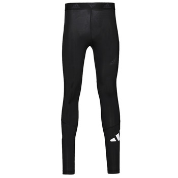 Clothing Men Leggings adidas Performance TF 3 BAR LT Black