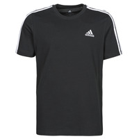 Clothing Men Short-sleeved t-shirts adidas Performance M 3S SJ T Black