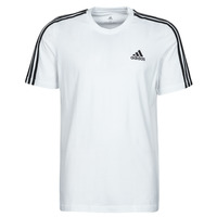 Clothing Men Short-sleeved t-shirts adidas Performance M 3S SJ T White