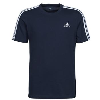 Clothing Men Short-sleeved t-shirts adidas Performance M 3S SJ T Blue