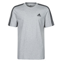 Clothing Men Short-sleeved t-shirts adidas Performance M 3S SJ T Grey